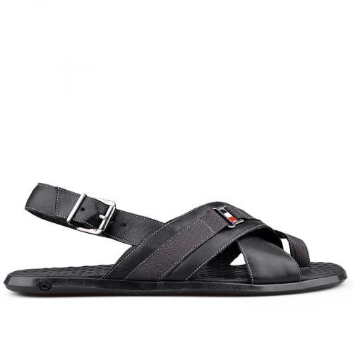 мъжки сандали черни 0124935