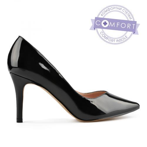 дамски елегантни обувки черни 0138092