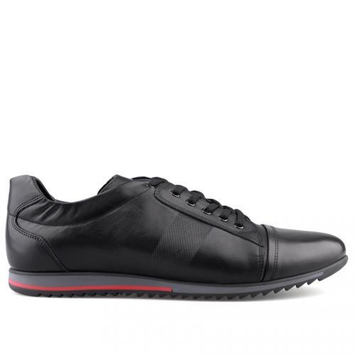 мъжки ежедневни обувки черни 0125979