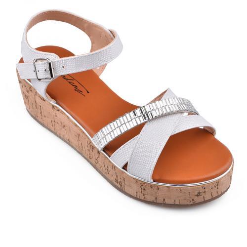 Дамски сандали с платформи 0134552