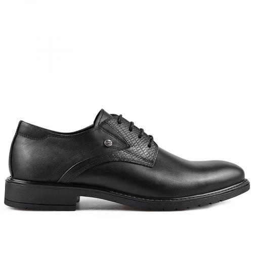 мъжки елегантни обувки черни 0135892