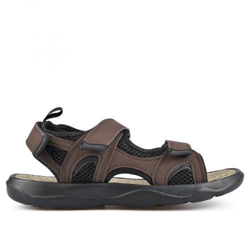 мъжки сандали кафяви 0137297