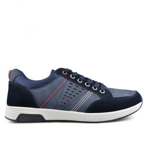 мъжки ежедневни обувки сини 0136942