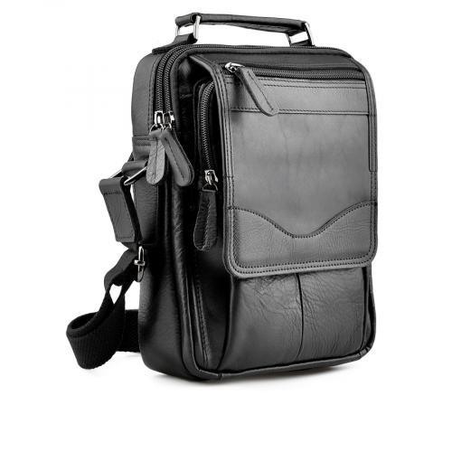 мъжка ежедневна чанта черна 0138056