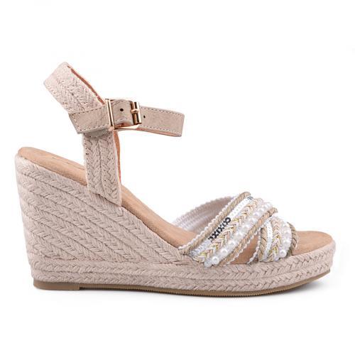 Дамски сандали с платформи 0134069