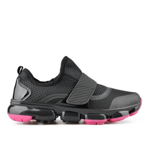 дамски ежедневни обувки черни 0136901