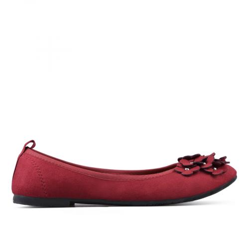 дамски ежедневни обувки червени 0133355