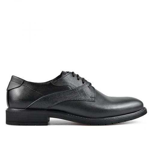 мъжки елегантни обувки черни 0135893