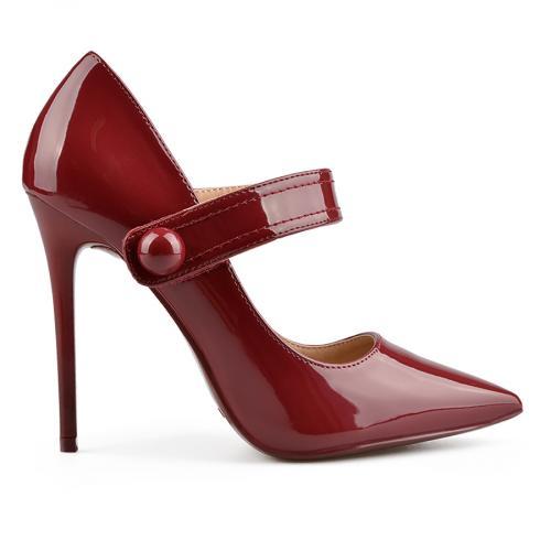 дамски елегантни обувки бордо 0137726