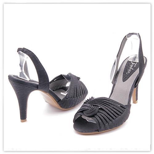 дамски сандали черни 0112731