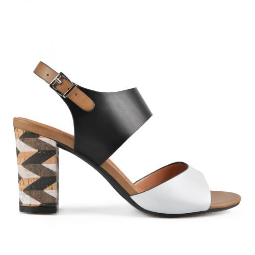 дамски елегантни сандали черни 0137644