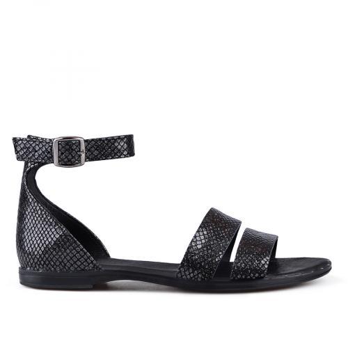 дамски ежедневни сандали черни 0135052