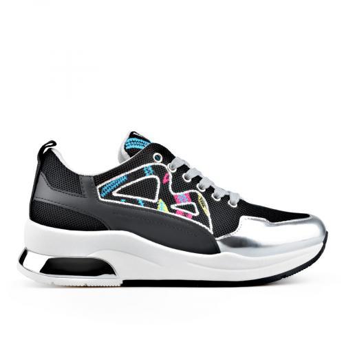 дамски ежедневни обувки черни 0136646