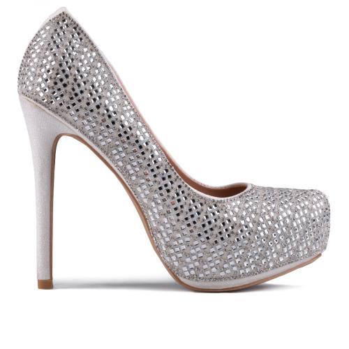 дамски елегантни обувки бели 0129215
