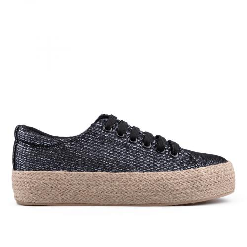 дамски ежедневни обувки черни 0134506