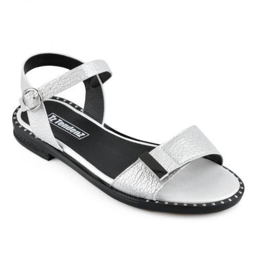 дамски ежедневни сандали бели 0136968
