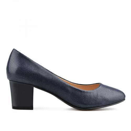 дамски елегантни обувки сини 0138139