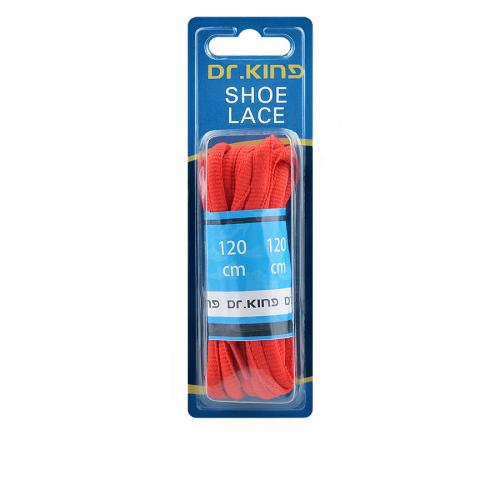 връзки за обувки червени 120см 0136284