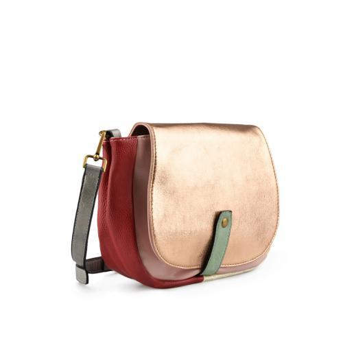 дамска ежедневна чанта златиста 0137990