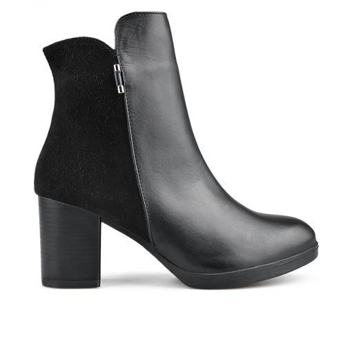 дамски елегантни боти черни  0136189