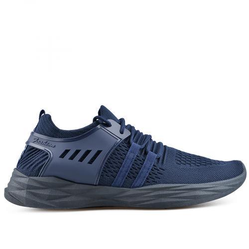 мъжки ежедневни обувки сини 0136924