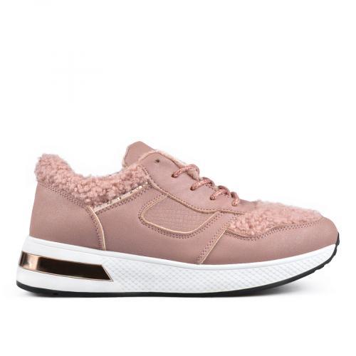 дамски ежедневни обувки розови 0135587