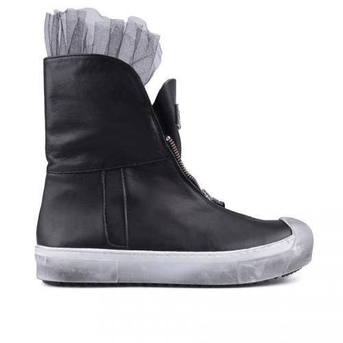 дамски кецове черни 0127520