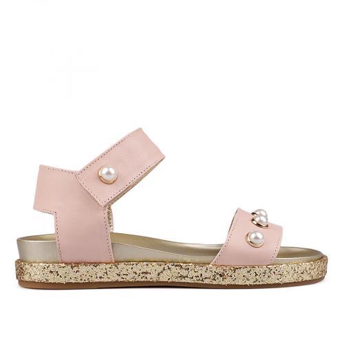 дамски ежедневни сандали розови 0132535