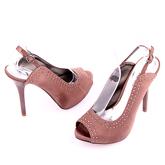 Дамски сандали на висок ток 0109877