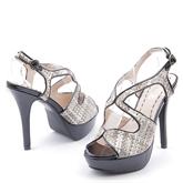 Дамски сандали на висок ток 0112793