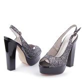 Дамски сандали на висок ток 0112877