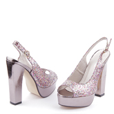 Дамски сандали на висок ток 0112878
