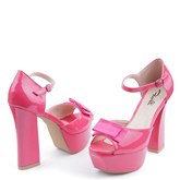 Дамски сандали на висок ток 0113689