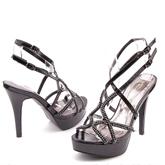Дамски сандали на висок ток 0113783