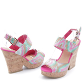 Дамски сандали с платформи 0114521
