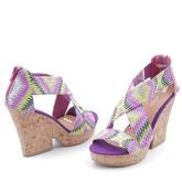 Дамски сандали с платформи 0114525
