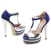 Дамски сандали на висок ток 0115784