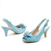 Дамски сандали на висок ток 0116413