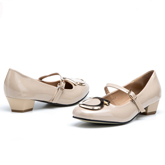 Дамски обувки на среден ток 0118233