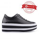 дамски ежедневни обувки черни 0134986