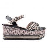 Дамски сандали с платформи 0133722