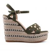 Дамски сандали с платформи 0133678