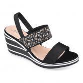 Дамски сандали с платформи 0134361