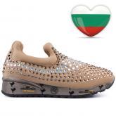 дамски ежедневни обувки бежови 0127584