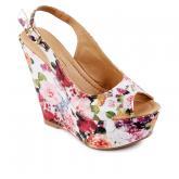 Дамски сандали с платформи 0128449