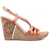 дамски ежедневни сандали кафяви 0124926