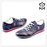 мъжки ежедневни обувки сини 0121444