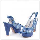 Дамски сандали на висок ток 0112965