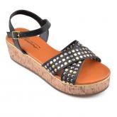 Дамски сандали с платформи 0134568
