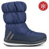 дамски ежедневни ботуши сини с топъл хастар 0135364